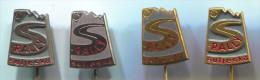 RALLY SUTJESKA - Yugoslavia, Vintage Pin, Badge, Lot 4 Pieces - Automobile - F1