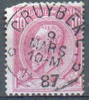 N°46 Obl. Sc Relais De CRUYBEKE *  - 10290 - 1884-1891 Leopold II.