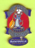 Pin's BD Disney Le Chef De Paris Ratatouille (Remy) - #087 - Disney