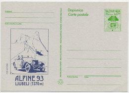 SLOVENIA 1993 6.00 T.  Commemorative Postal Stationery Card, Unused.  As Michel P5 - Slovenia