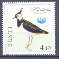 2001. Estonia, Bird, 1v, Mint/** - Estonia