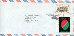 BAHAMAS. N°532 De 1983 Sur Enveloppe Ayant Circulé. Esclavage. - Bahamas (1973-...)