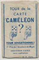 Magie Prestidigitation Trucage  Cameleon Format 6 Par 9 Cms - Playing Cards