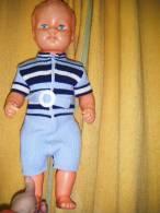 Poupon   Plastique   Hauteur  50 Cm Environ -sans Marque----- - Dolls