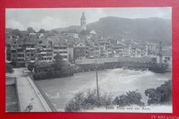 THUN  Und Die Aare  - 1907 -   Recto/verso - BE Bern