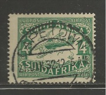 SOUTH AFRICA UNION 1929 Used Stamps  2nd Airmail Issue  Nrs. 43-44 (1 Value Only) - South Africa (1961-...)