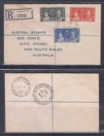 Singapore, Straits Settlements 1937 Registered Cover - Singapur (1959-...)