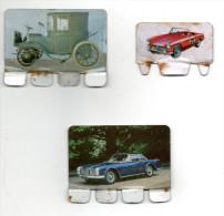 """3 Plaquettes COOP """" L'auto à Travers Les Ages"""" - Brands"""