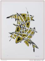 Asdrubali Gianni (1955) Firma Tiratura A Stampa 82/100 1992 Timbro A SECCO MANUELA ALLEGRINI EDITOR ARTE CONTEMPORANEA - Litografia