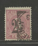 NEDERLANDS INDIE 1883 Used Stamp(s) Numbers, 2 1/2 Cent Orange/yellow Nr. 19 - Netherlands Indies