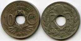 France 10 Centimes 1924 Poissy GAD 286 KM 866a - France