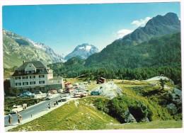 K2083 Hotel Maloja Kulm Gegen Pizzo Dei Rossi Und Piz Salecina - Auto Cars Voitures / Non Viaggiata - GR Grisons