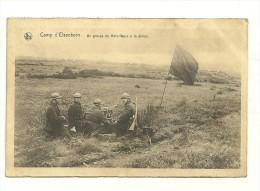 Camp D'Elsenborn : Un Groupe De Mitrailleurs à La Plaine - Bütgenbach