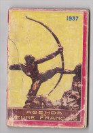 Agenda du Jeune Fran�ais 1937 Engagement Militaire Troupes M�tropolitaines Troupes Coloniales cartes photo garnisons