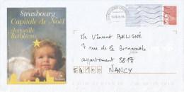 France 2005 Strasbourg PAP Christmas Noel Cover - PAP:  Varia (1995-...)