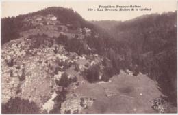 1913-Suisse-Les Brenets Rochers De La Caroline-Frontiere Fanco Suisse-Ed CIB-Ref 829 - NE Neuchâtel