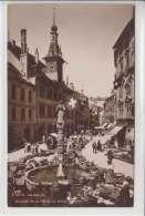 LAUSANNE- L´HOTEL DE VILLE ET MARCHE DE LA PALUD- ANNIME-N/C - VD Vaud