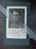 Neder Over Heembeek PEETERS Charles* 1e & 3e Carabiniers*1914-1918 /knipsel Coupure 1935 /WO I/ - War 1914-18