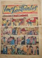 REVUE BD -  AMES VAILLANTES - No 1 Dimanche 6 Jan 1952 - Chantal Au Toit Du Monde - Magazines Et Périodiques