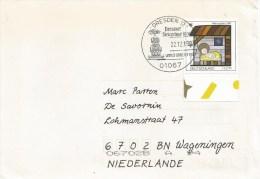 Germany Deutschland 1997 Dresden Dresdner Striezelmarkt Christmas Weihnachten Special Handstamp Cover - [7] Repubblica Federale