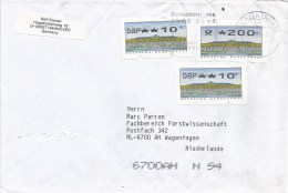 Germany Deutschland 1999 Hannover EXPO ATM FRAMA Cover - 2000 – Hannover (Duitsland)