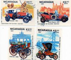 L -  1984 Nicaragua - Auto Storiche - Bus