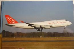 B 747 400   ACG / AIR CARGO GERMANY   D ACGB - 1946-....: Modern Era