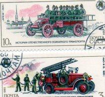L -  1985 Russia  - Mezzi Antincendi - Bus