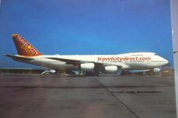 B 747 200   TRAVEL CITY DIRECT    TF ABA - 1946-....: Moderne