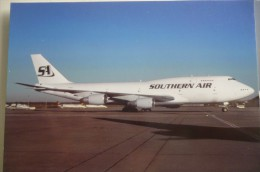 B 747 200   SOUTHERN AIR  N746SA - 1946-....: Moderne