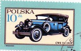 L -  1987 Polonia - Auto Storica - Bus
