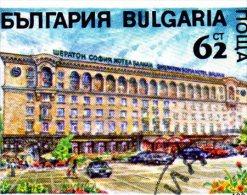 L -  1991 Bulgaria  - Auto E Hotel Sheraton - Bus