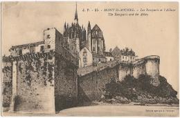 50 - Mont-Saint-Michel - Les Remparts De L'Abbaye - The Remparts And The Abbey - Ed. Spéciale De L'Abbaye / J. P. 95 - Le Mont Saint Michel