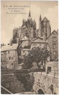 50 - Mont-Saint-Michel - Vue Générale Et Le Tour Des Remparts - The Way Arounds The Remparts - J. P. 30 - Le Mont Saint Michel