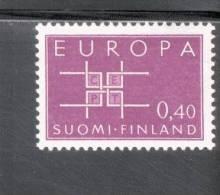 CEPT Ornament Finnland 576 ** Postfrisch - Europa-CEPT