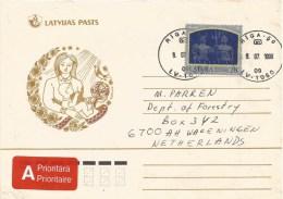 Latvia 1998 Riga Mythology Greek Roman Cover - Letland