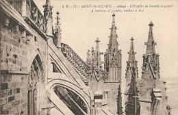 50 - Mont-Saint-Michel - Abbaye - L'Escalier De Dentelle En Granit - A Staircase Of Granite, Worked As Lace - J. P. 77 - Le Mont Saint Michel