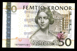 SVEZIA (SWEDEN)  :  50 KRONOR - 2008 - P64 - UNC - Svezia