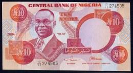 NIGERIA  : 10 Naira 2004 - P25 - UNC - Nigeria