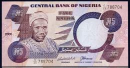 NIGERIA  : 5 Naira 2005 - UNC - Nigeria