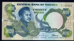 NIGERIA  : 20 Naira 2004 - P26 - UNC - Nigeria