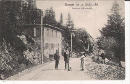 ROUTE DE LA SCHLUCHT DOUANE ALLEMANDE 109              1909 - Douane