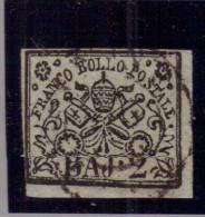 Antichi Stati - Stato Pontificio - 1852 - Usato/used - Serie Ordinaria - Mi N. 3 - Stato Pontificio