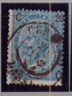 Italia - 1865 - Usato/used - Ordinari Sovrastampati - Mi N. 25 II - 1861-78 Vittorio Emanuele II