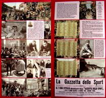 Calendarietto Nuovo CENTENARIO I° GIRO D'ITALIA 1909/2009 Ricostruzione Foto-Grafica - Calendari