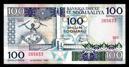 SOMALIA : 100  Scellini - 1983 - P35a - VF+ - Somalia