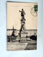 Carte Postale Ancienne : AIGUES VIVES : Monument Emile Jamais , En 1916 - Aigues-Vives