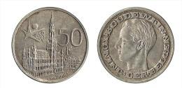 N1549 - Belgique: Baudouin I: 50 Francs 1958 (version Néerlandaise) - 1951-1993: Baldovino I