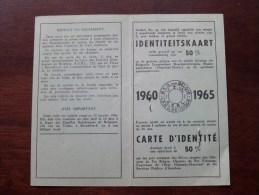 B.K.G / L.F.N - ID De 50 % - Robert Paulina Kruibeke 1897 - N° 409560 Anno 1960-1965 ( Details Zie/voir Photo ) ! - Titres De Transport