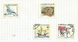 Croatie N°167, 168, 171, 172  Côte 2.25 Euros - Croatia